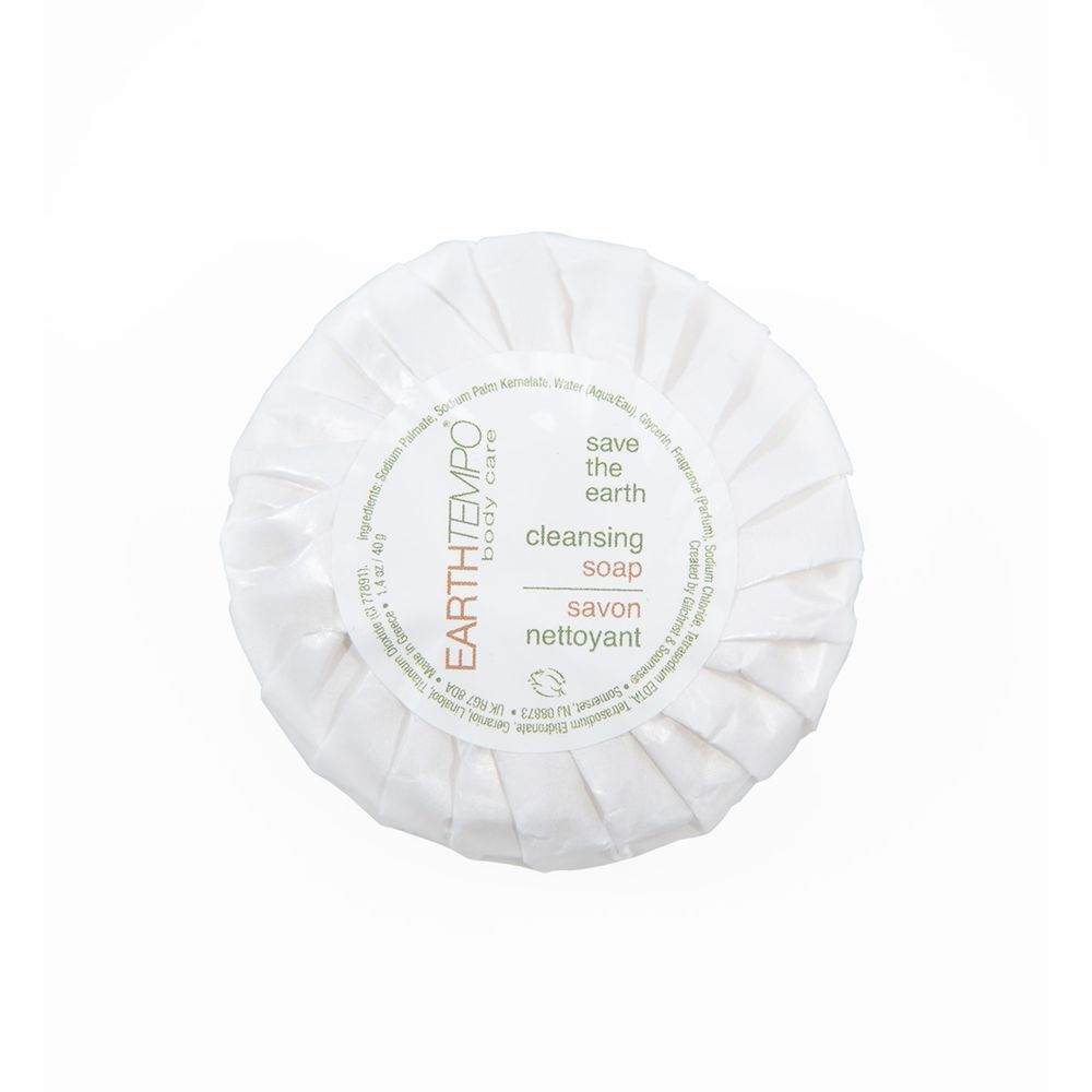Earth Tempo Tissue Pleated  Soap 40g