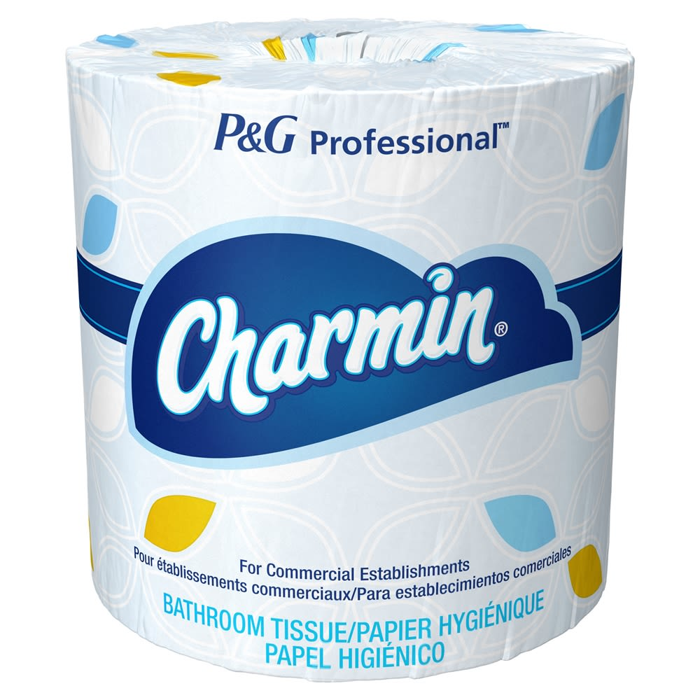 Charmin Commercial Toilet Paper, 75 Individually Wrapped Rolls, 450 Sheets/Roll