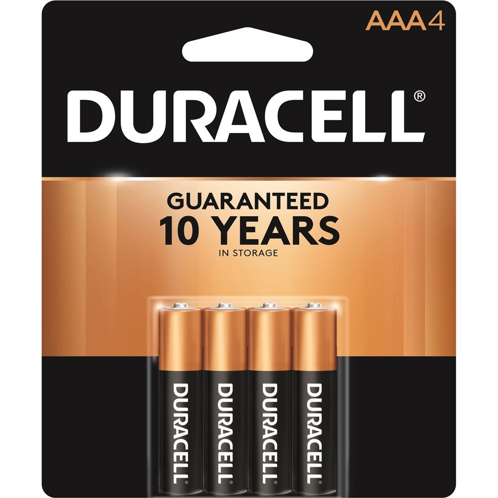 Duracell Size AAA Batteries 4-Pack