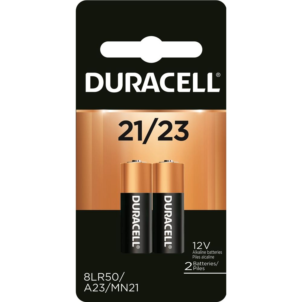 Duracell 12V 21/23 Alkaline Battery 2-Pack
