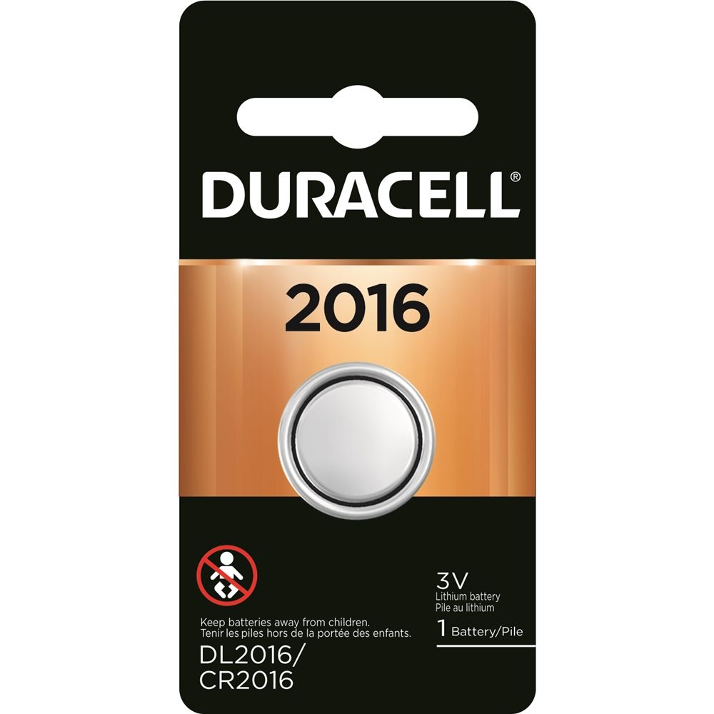 Duracell 3V 2016 Lithium Coin Cell Battery