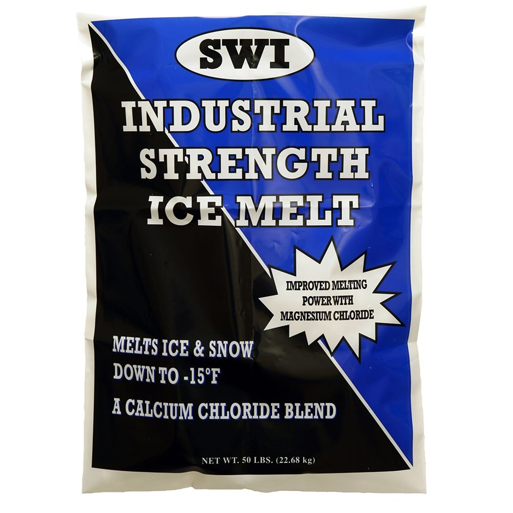 Scotwood Industries 50 lb. Sodium, Calcium and Magnesium Chloride Industrial Strength Ice Melt Palle