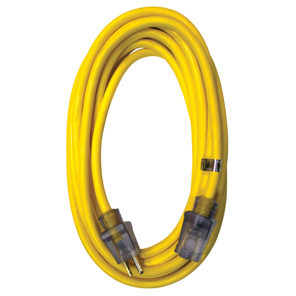 RAPTOR® 12/3 Sjtw 50 ft. Hd Extension Cord Lgtd Yellow