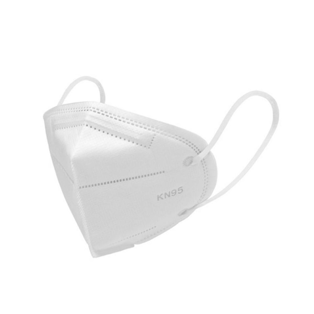 Disposable Non Medical KN95 Protective Face Mask, Filter Type 3-Dimensional, White, 1200 PC/CS