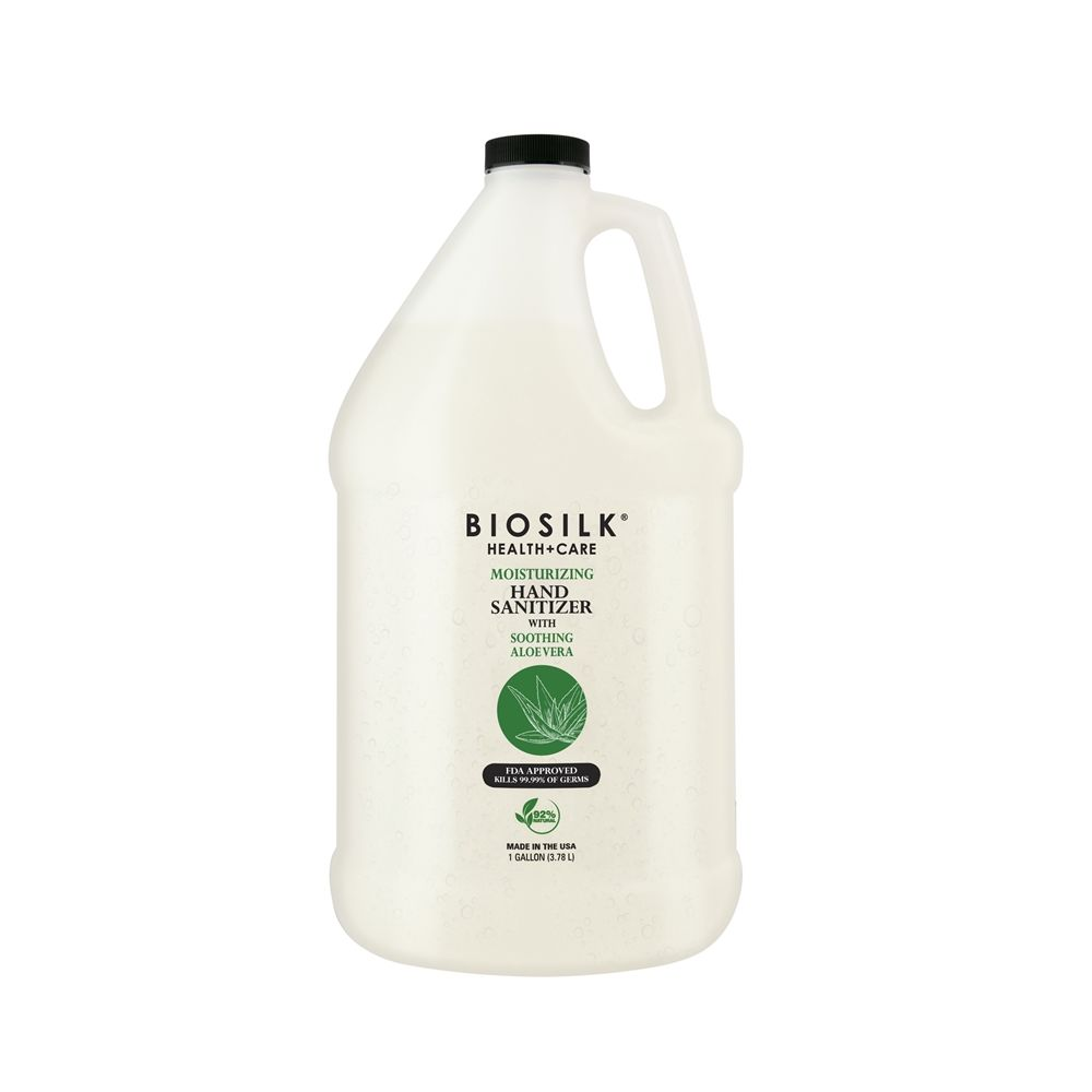 BioSilk Aloe Vera Gel Hand Sanitizer, 1 Gallon