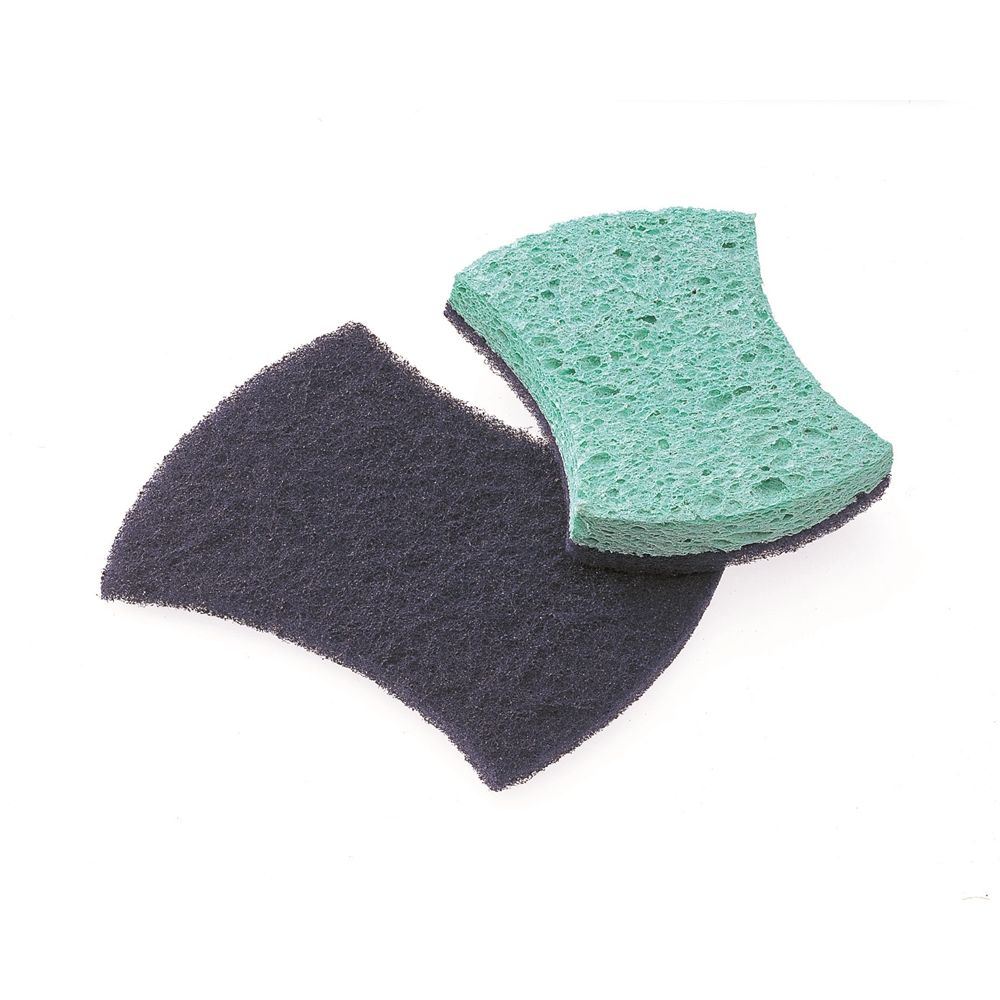 3M Corporation® Scotch-Brite® Power Sponge Scrubber 2.8 x 4.5 x 0.3 Aqua / Purple