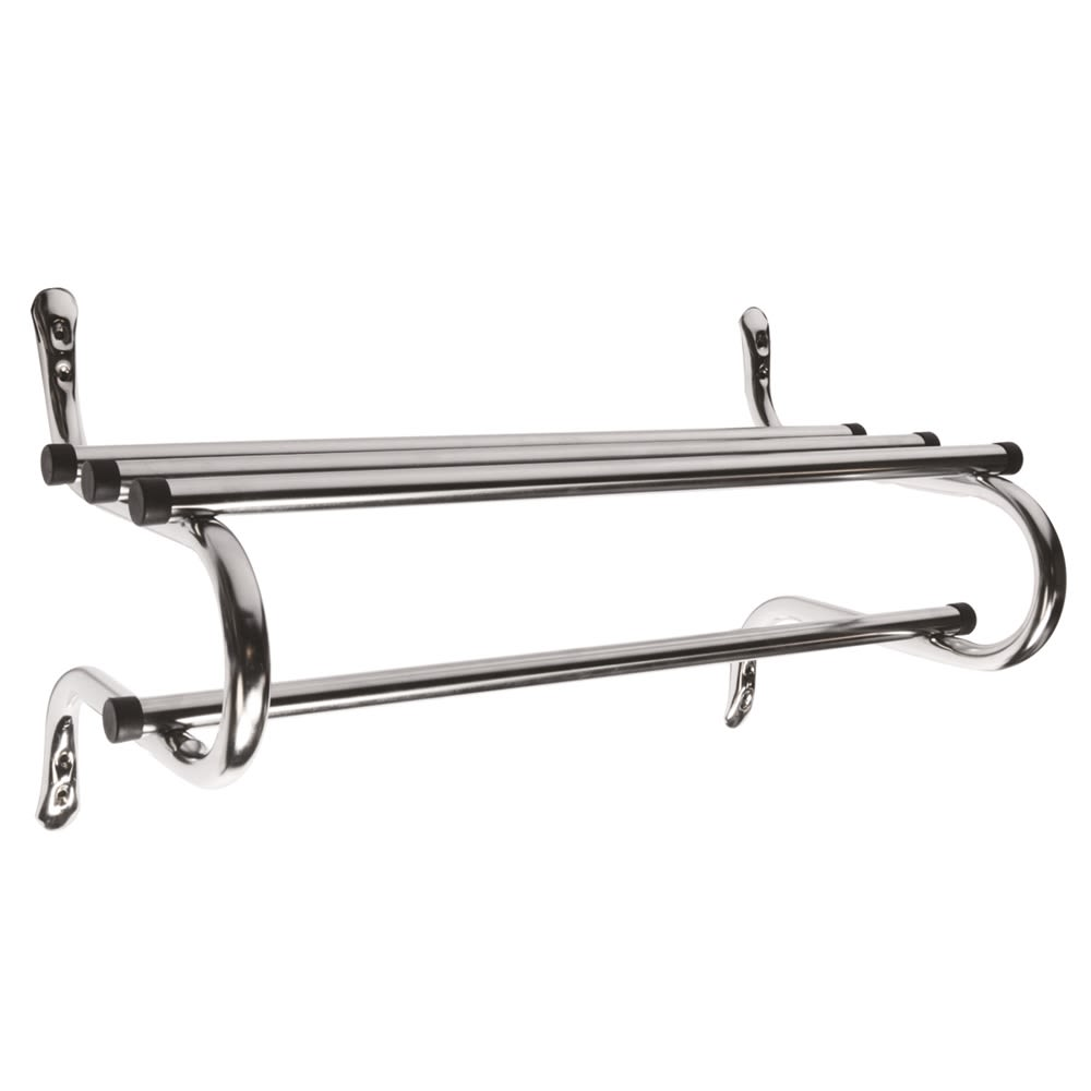 Zinc Coat Rack, 48in, Chrome