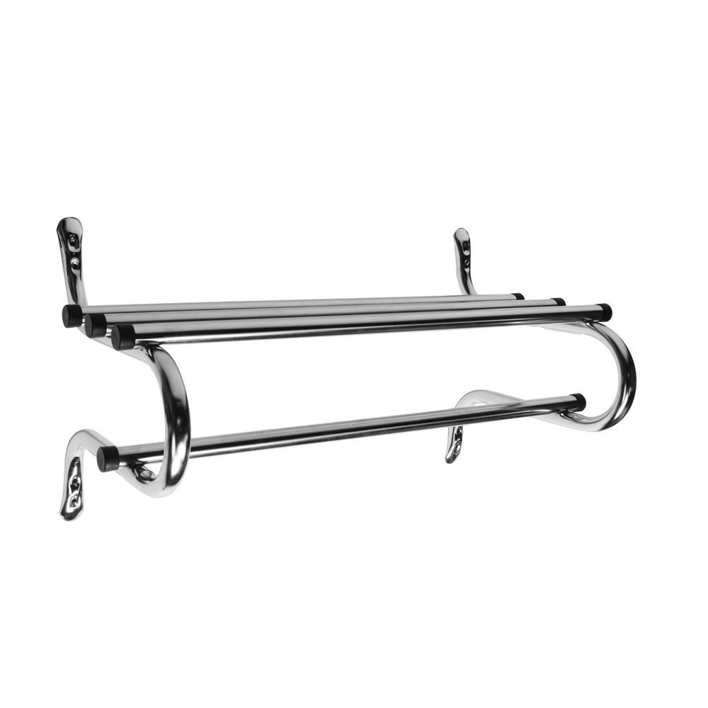 Zinc Coat Rack, 24in, Chrome