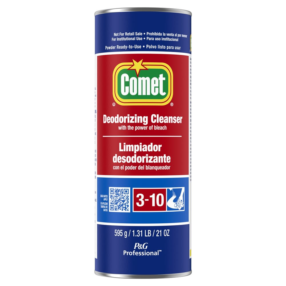 Comet® Deodorizing Cleanser Powder 21oz Can
