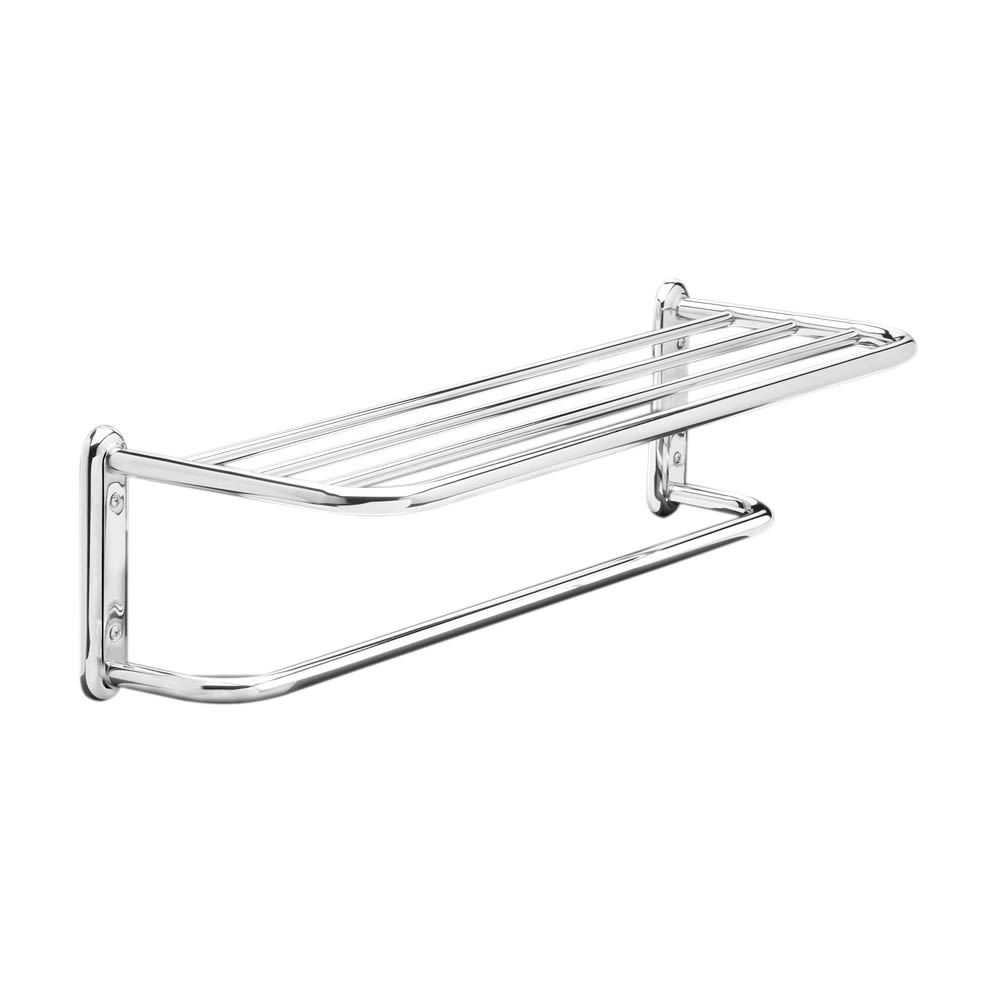"Towel Shelf Bar, 24"", Chrome Finish"