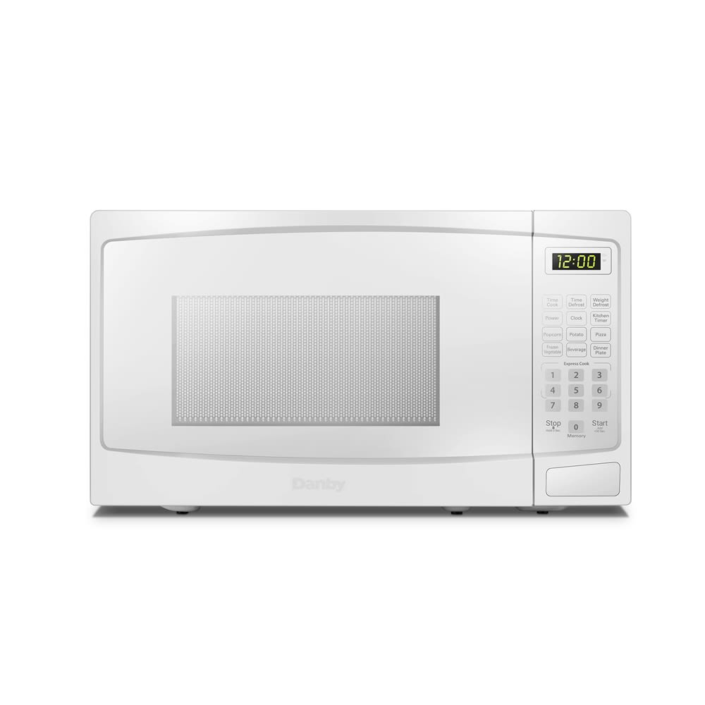 Danby® Microwave with Electronic Controls, 0.7 Cu Ft, 700 Watts, White