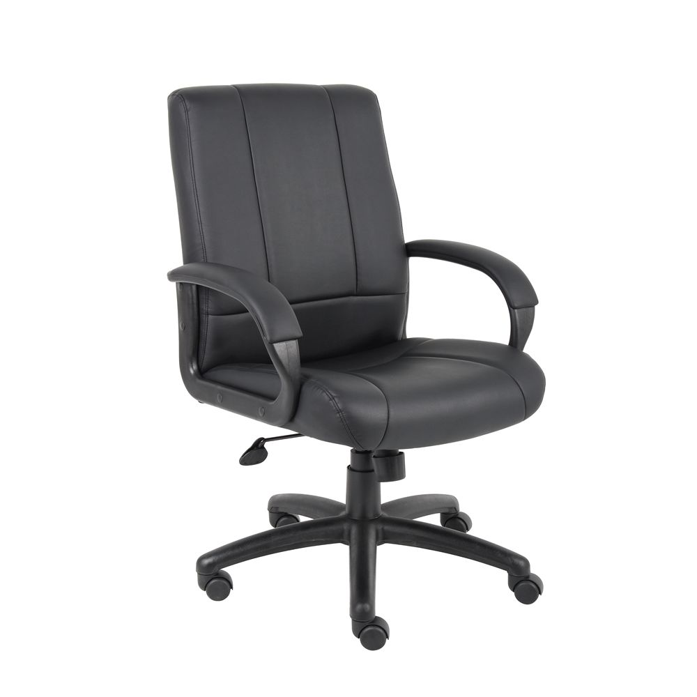 Boss Executive Mid Back Chair, Black