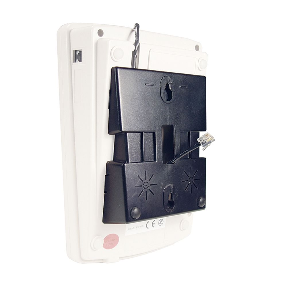 Aegis Telephone Wall Mount Kit for Aegis-08, Black