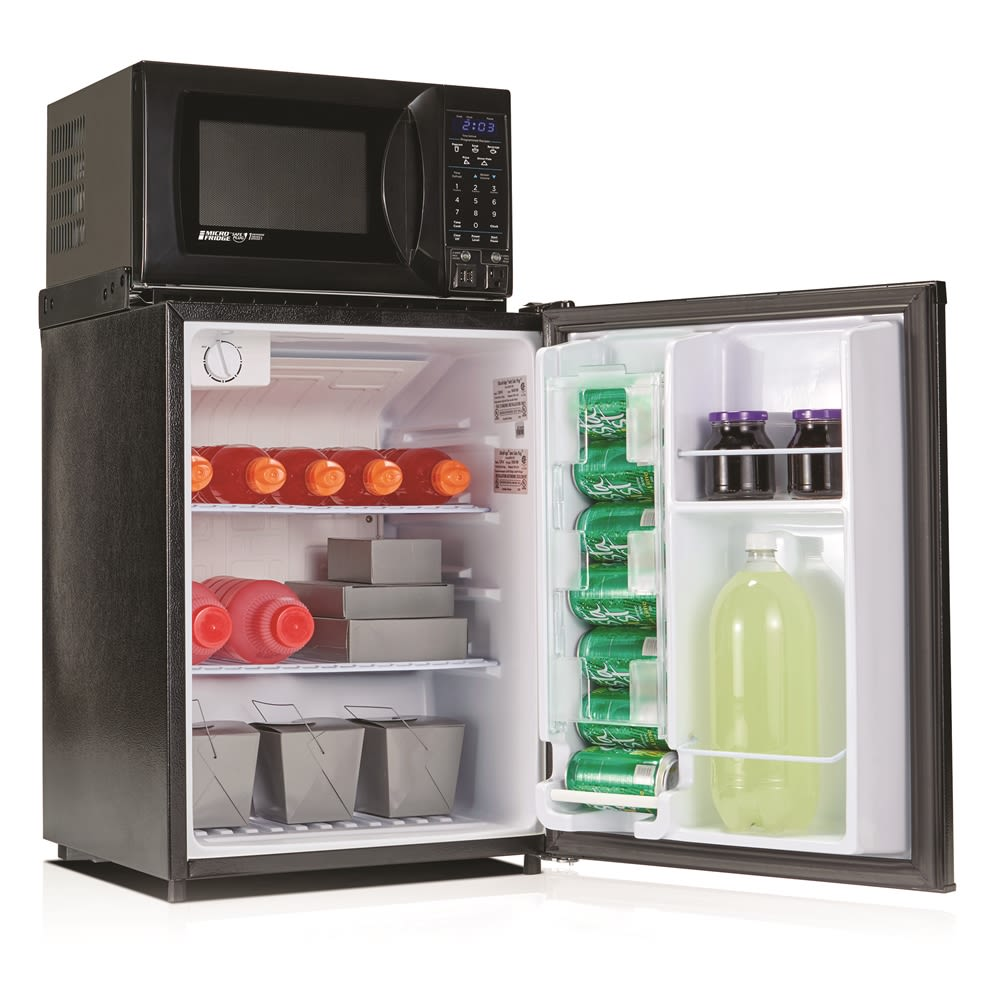 MicroFridge® Combo Refrigerator and Microwave, 2.3 Cu Ft, Auto Defrost, 700 Watts, Black