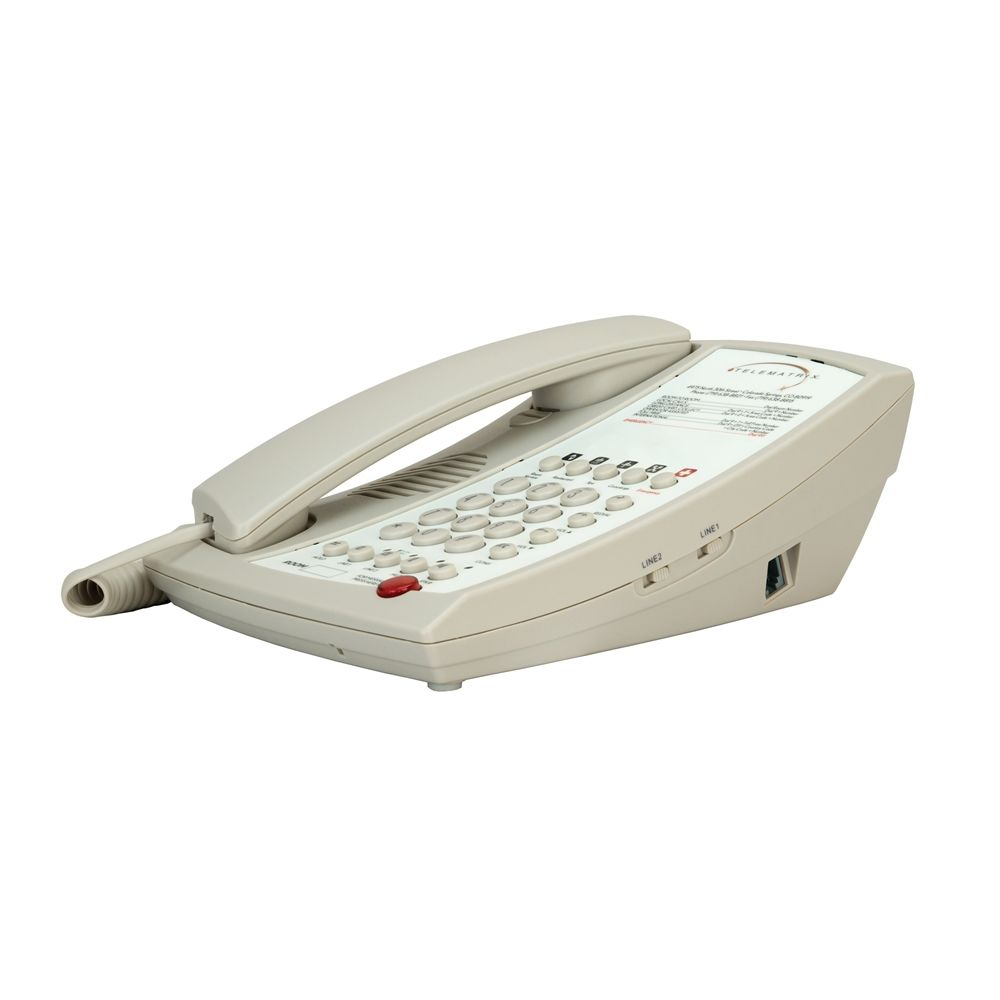 2-Line Telephone with Speakerphone 3102MWD5, Ash