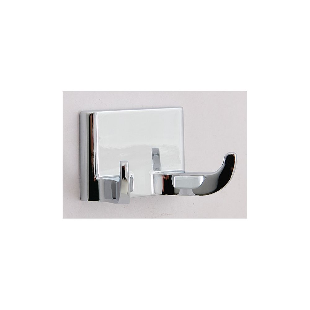 Double Robe Hook, Sunglow Collection, Polished Chrome