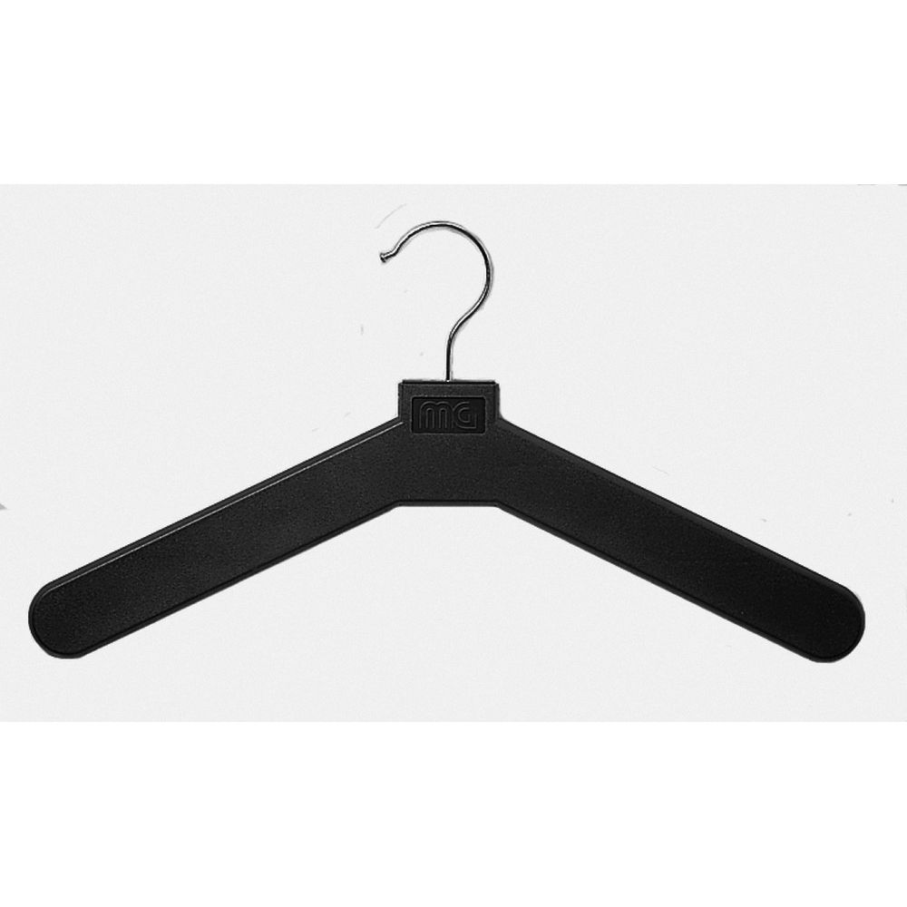 Hangers, Polystyrene Open Hook Wire, Black