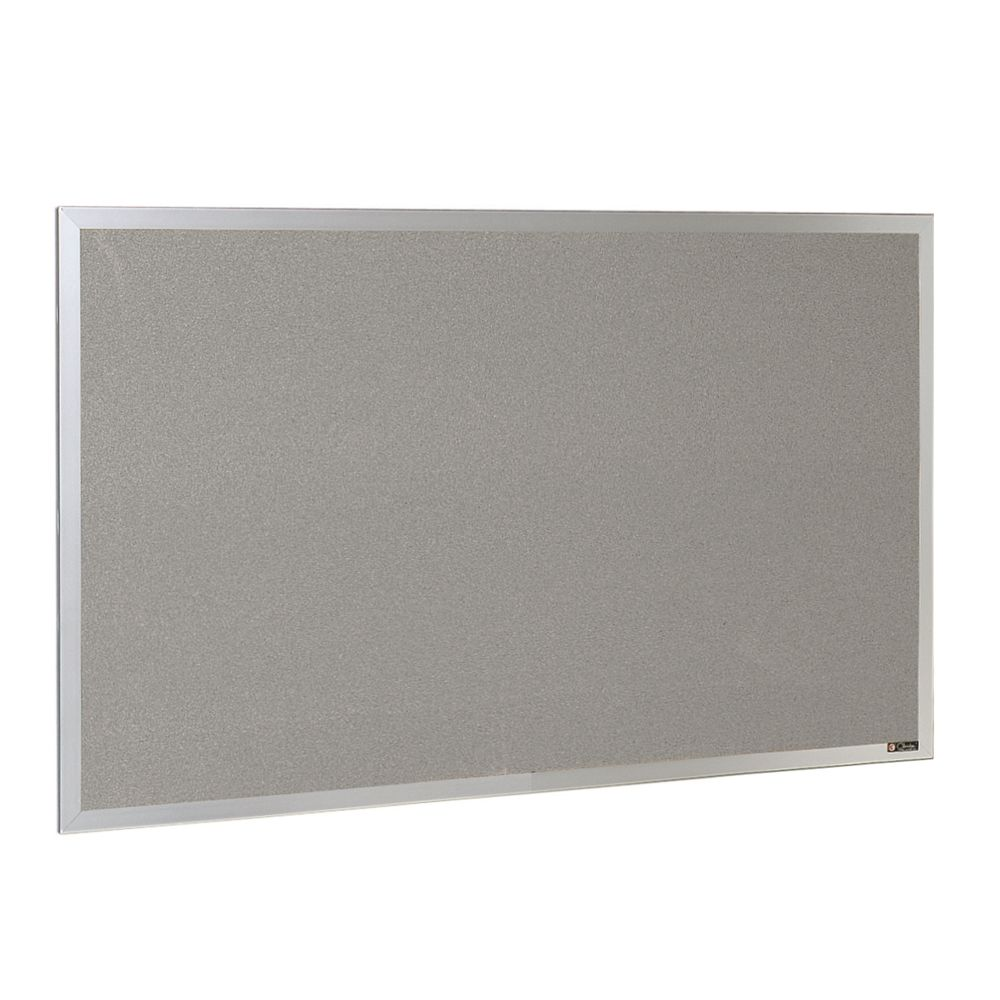 Claridge® Nucork Tackboard, 2x3, Tan Nucork with Aluminum Frame