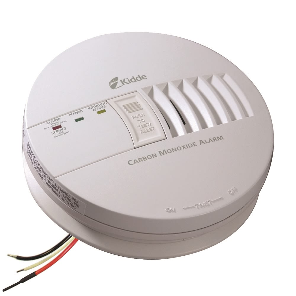 Kidde Hardwired Carbon Monoxide Alarm with Battery Backup & Smart Interconnect System