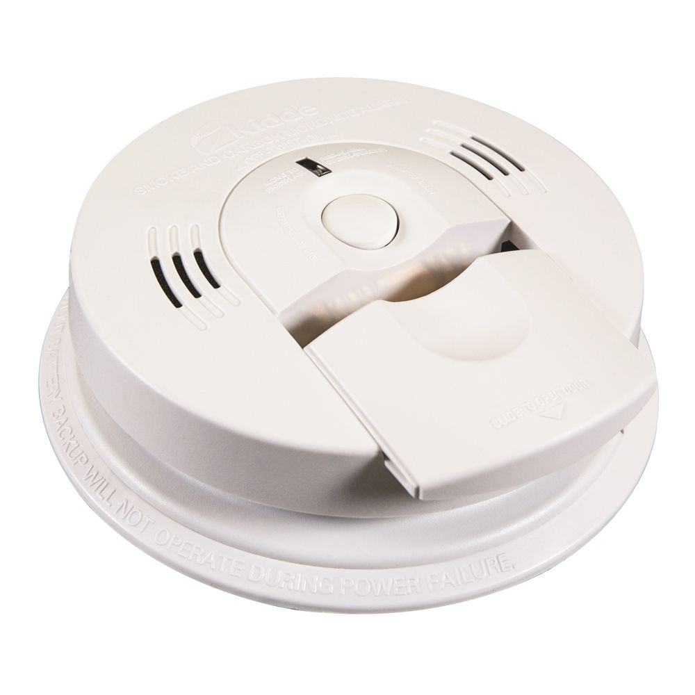 Kidde Battery Operated Combination Smoke & Carbon Monoxide Alarm with Voice Warning System