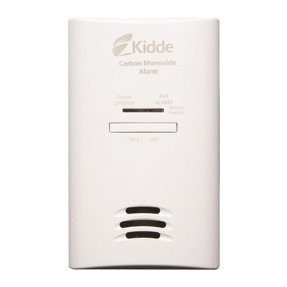 Kidde AC Powered Plug-In Carbon Monoxide Alarm with Battery Backup