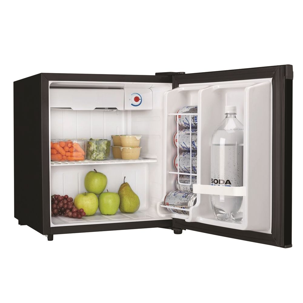 Danby® Refrigerator, 1.6 Cu Ft, Energy Star Rated, Semi-Auto Defrost, Black
