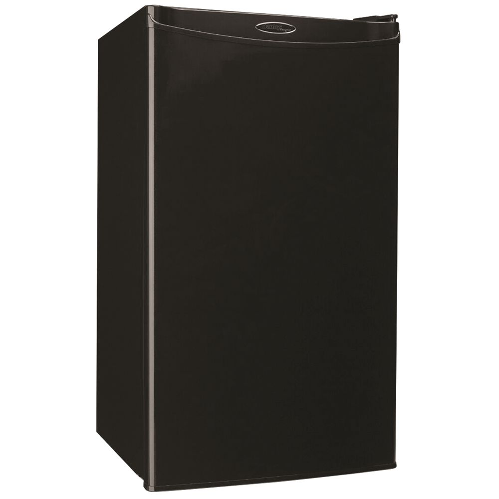 Danby® Designer Refrigerator, 3.2 Cu Ft, Energy Star Rated, Semi-Auto Defrost, Black
