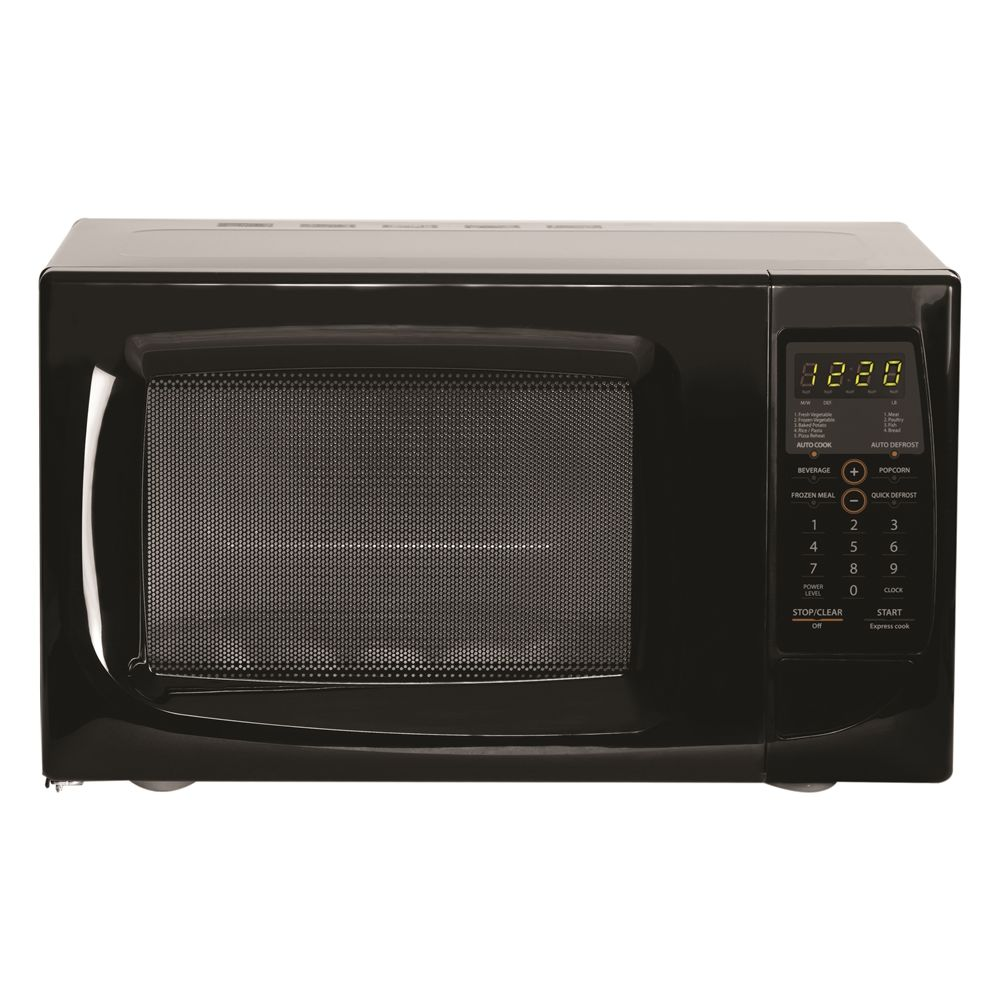 Absocold® Touch Pad Microwave Oven w/ Internal Power Allocator, 0.9 Cu Ft, 900 Watts, Black