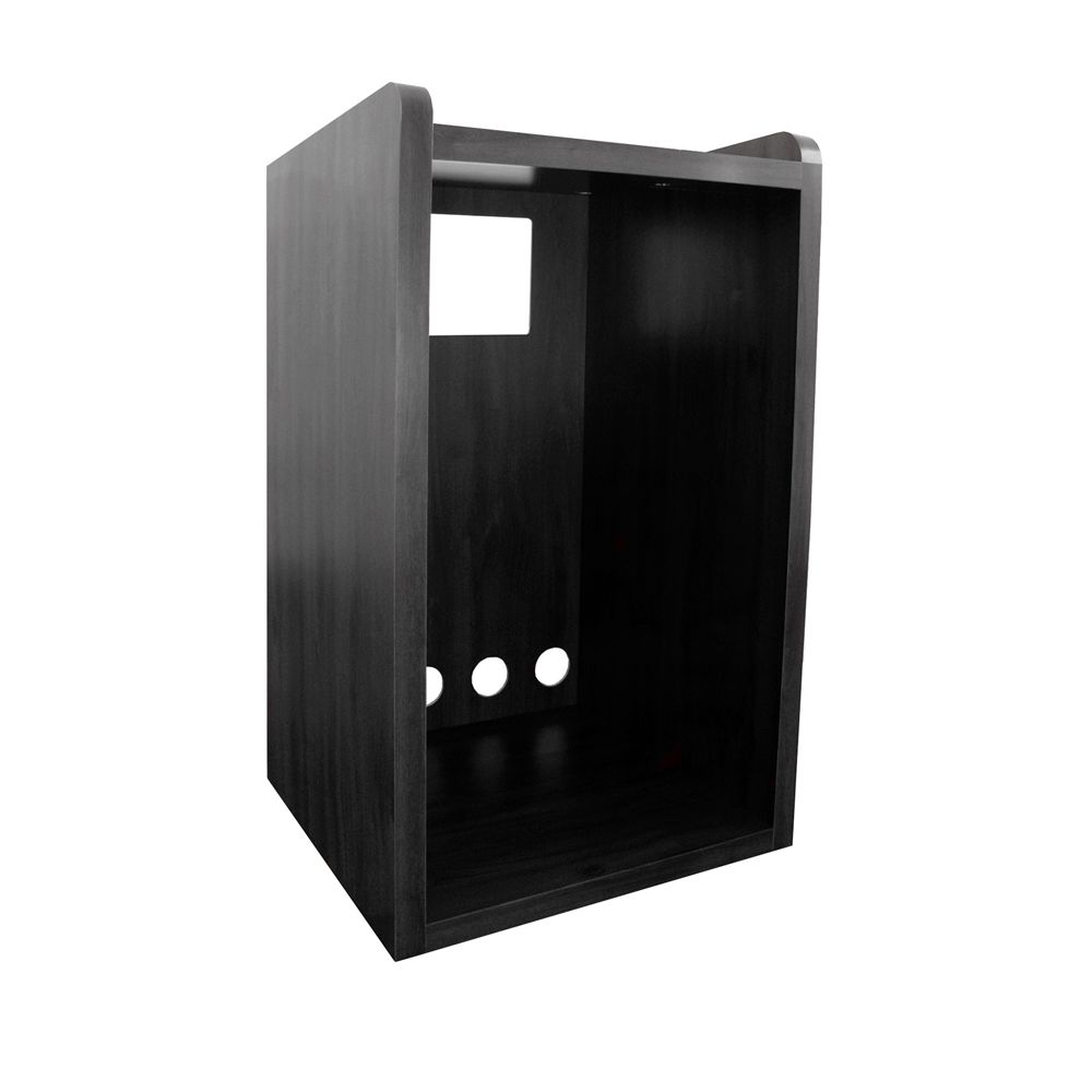 Tatung Micro Fridge Cabinet, Black