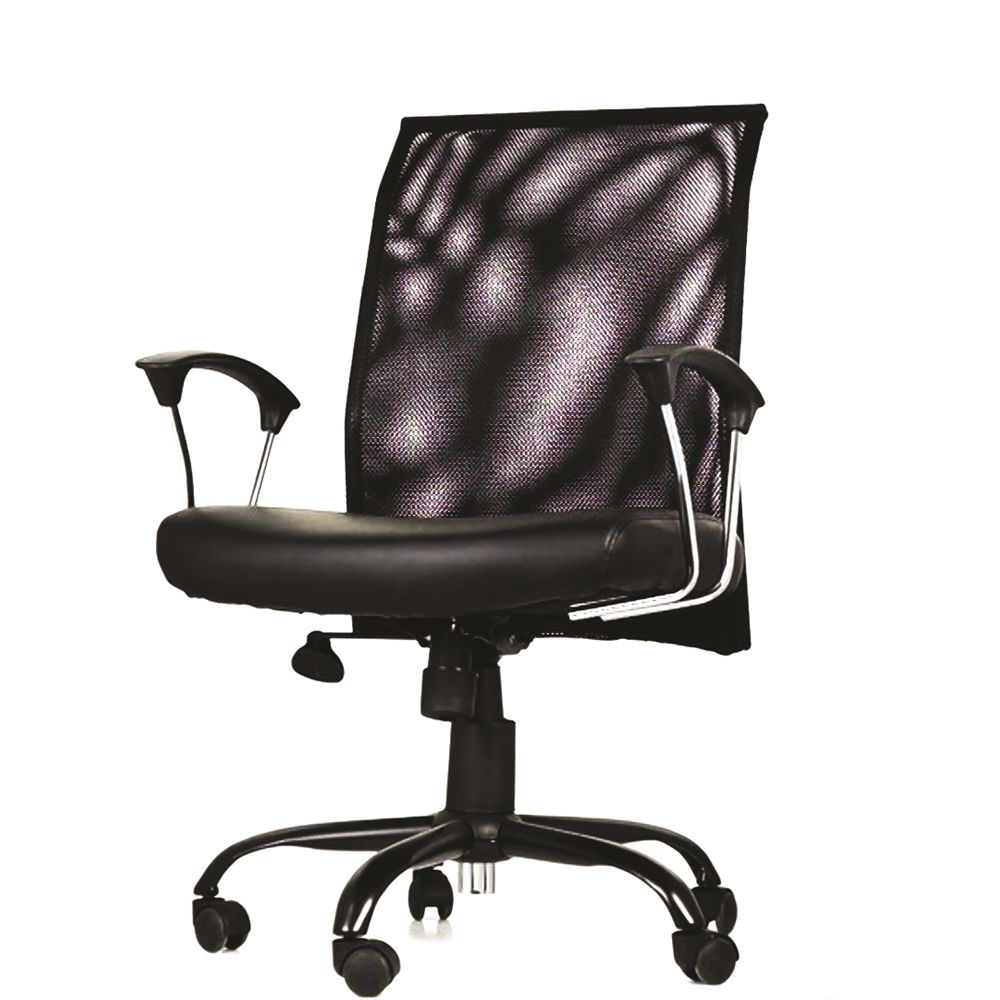 Bari Mesh Back Task Chair, Black