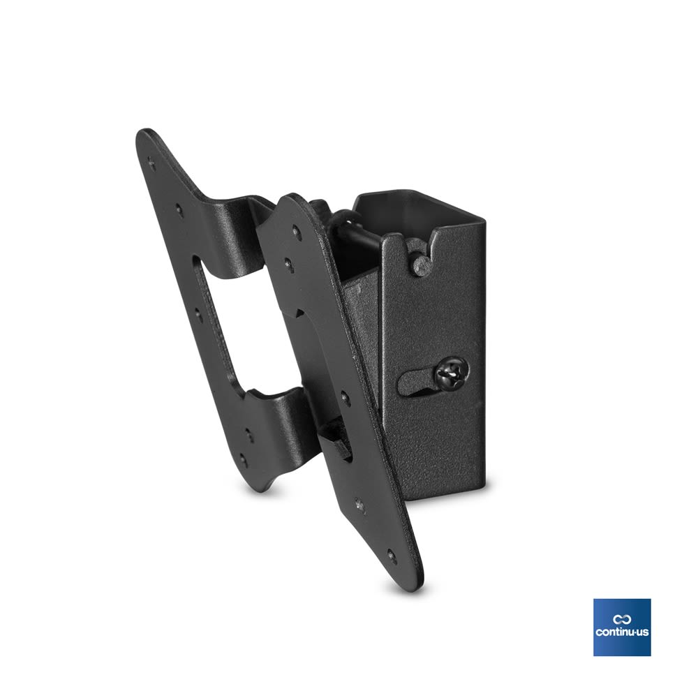 Heavy Duty Flat Screen Tilt Wall Mount for Televisions 22-32in, Black
