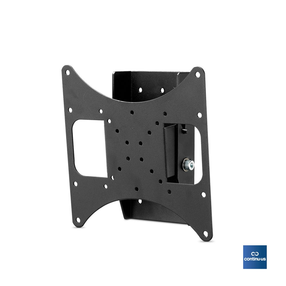 Heavy Duty Flat Screen Tilt Wall Mount for Televisions 22-37in, Black