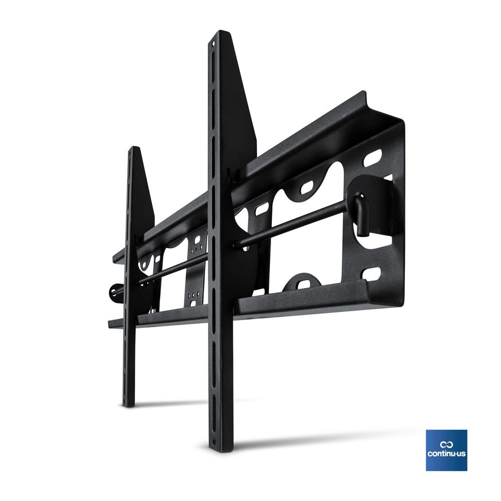 Heavy Duty Flat Screen Tilt Wall Mount for Televisions 32-63in, Black