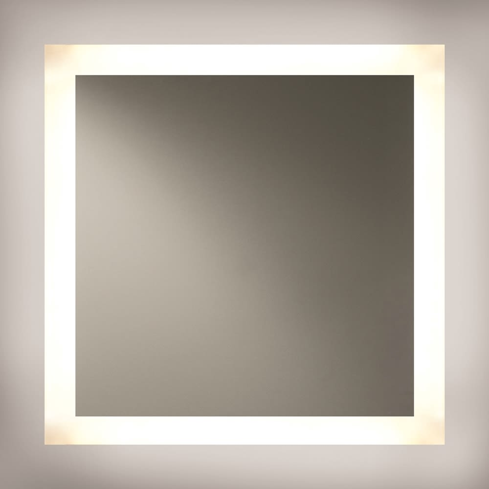 Backlit LED Mirror, 4 Sides, 36Hx36W