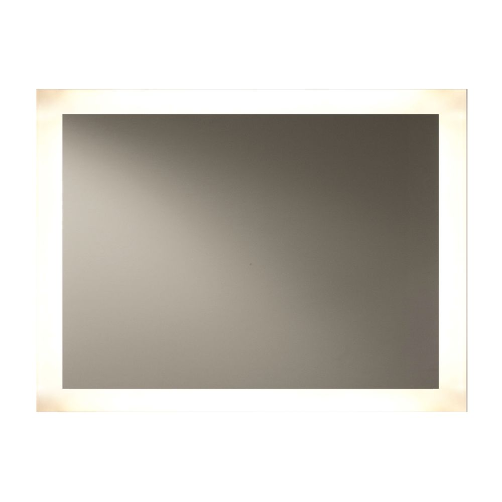 Backlit LED Mirror, 4 Sides, 48Wx36H
