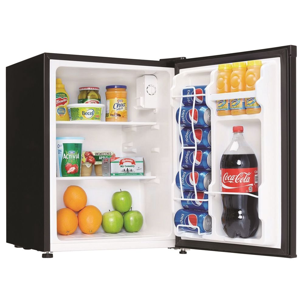 Danby® All-Refrigerator, 2.3 Cu Ft, Auto Defrost, Black