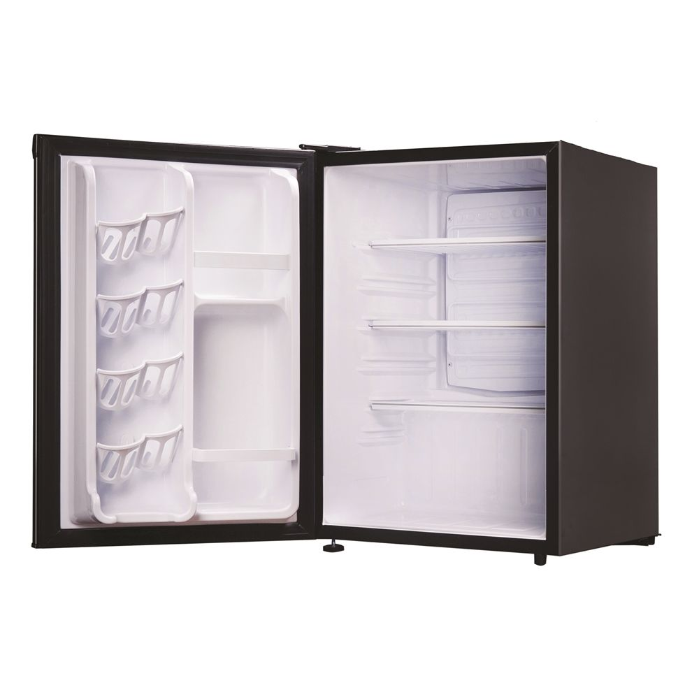 Danby® One Plug Refrigerator, 2.6 Cu Ft, Cycle Defrost, Black