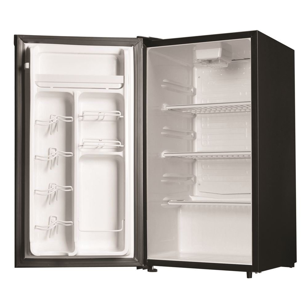 Danby® One Plug All Refrigerator, 3.3 Cu Ft, Black