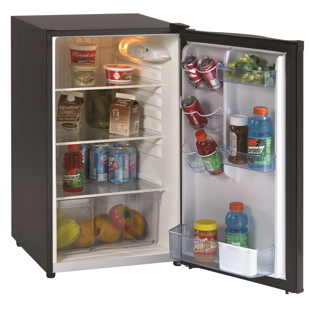 Avanti® All Refrigerator, 4.4 Cu Ft, Energy Star Rated, Auto Defrost, Black