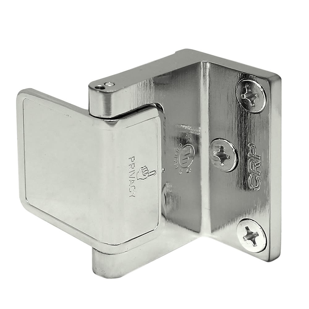 Privacy Door Latch, Polished Chrome