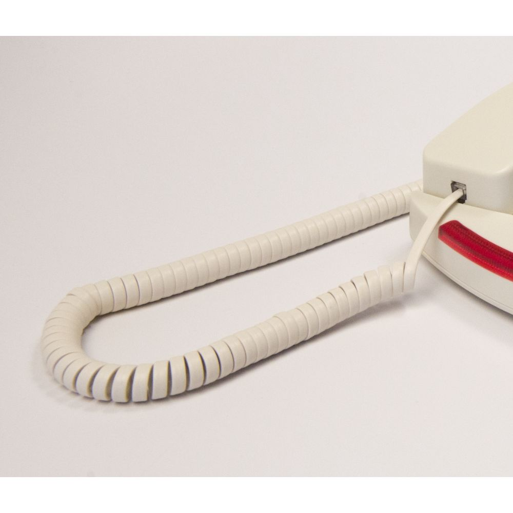 Med-Pat® 7 Ft Handset Cords, Cream