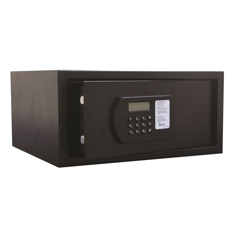 Avanti® Hotel Room Safe, Black