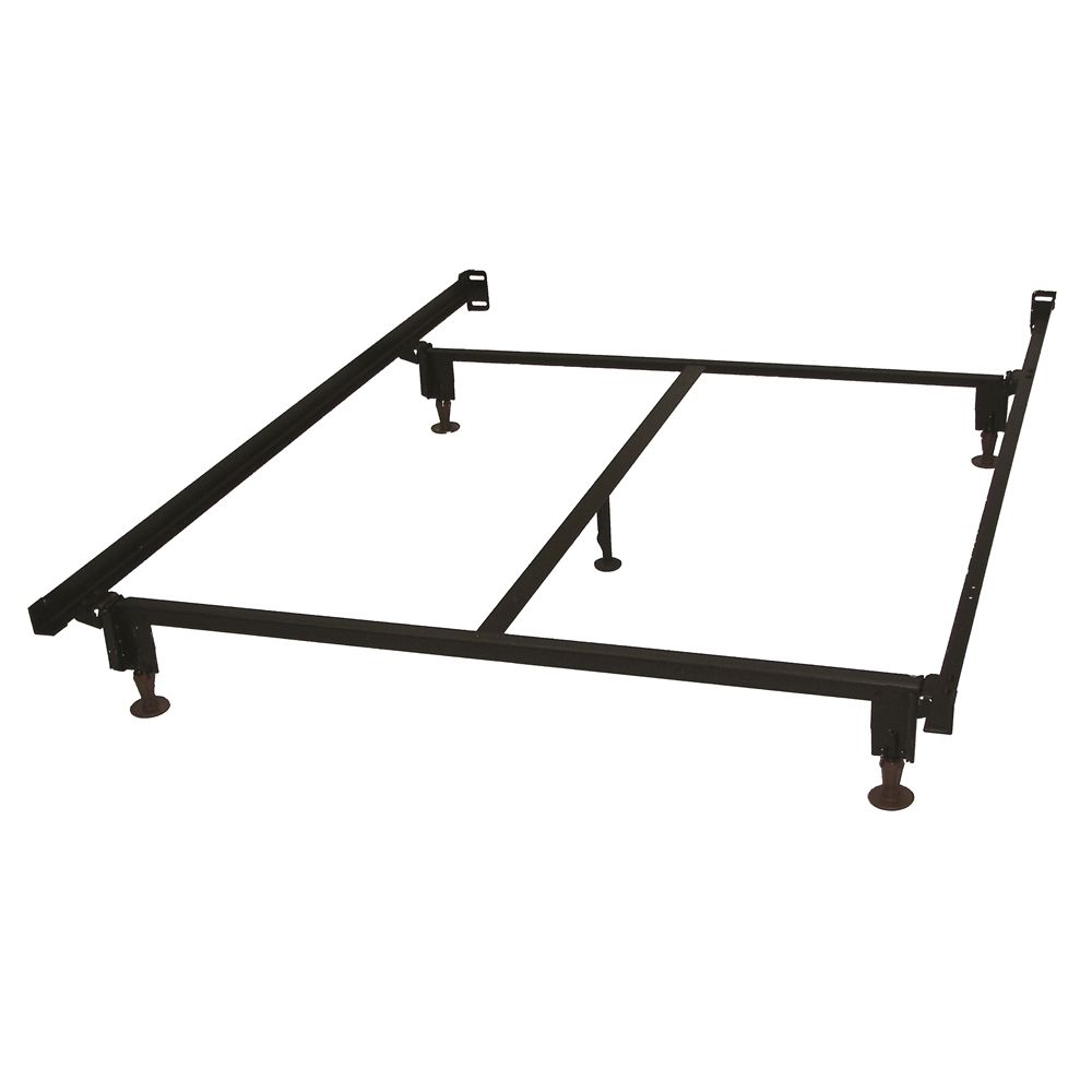 "Hollywood Bed  Eco-Matic® 7.5""H Bed Frame with Glides & 71"" Side Rails, Full/Full XL"