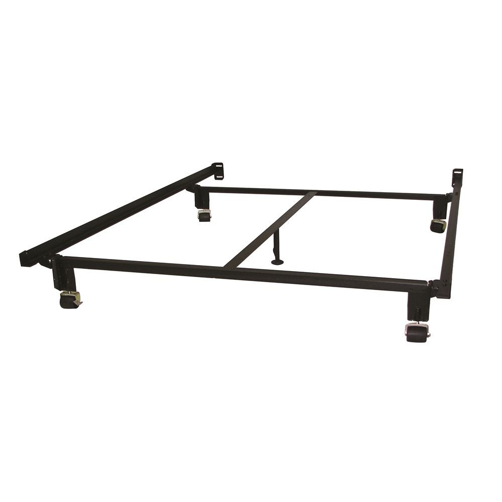 Hollywood Bed  Eco-Matic® 7.5in High Bed Frame w/ Rollers, Full/Full XL