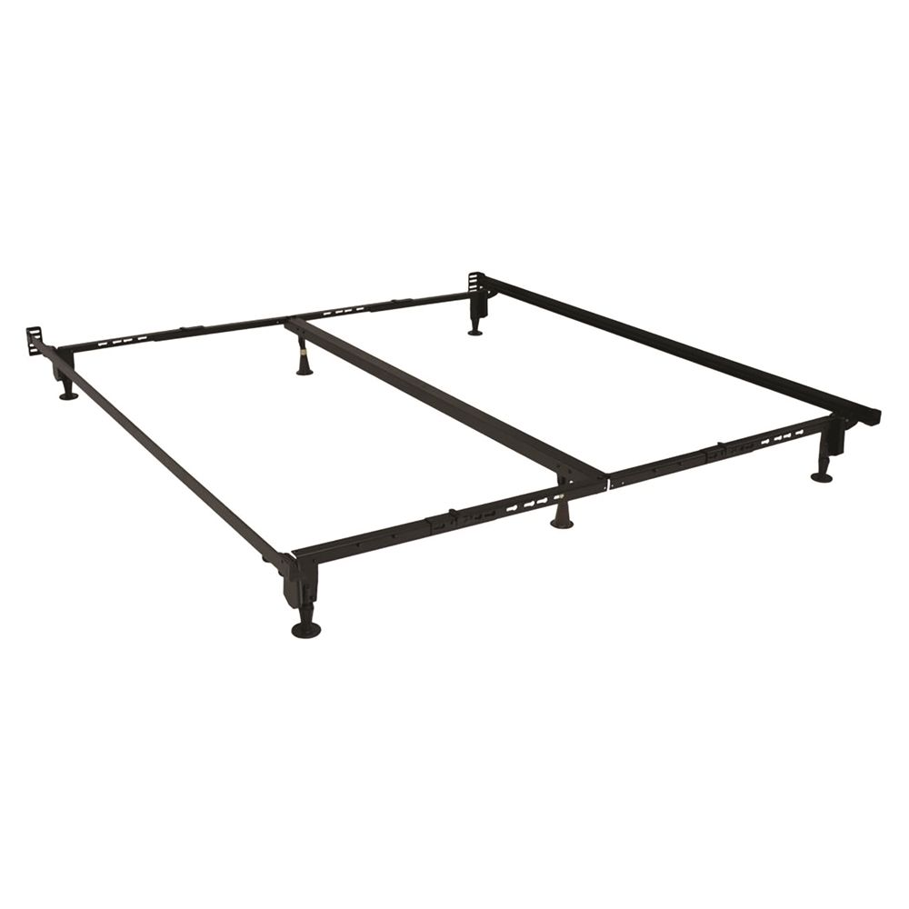 Hollywood Bed ADA Bed Frame with Glides, Queen, California/Eastern King