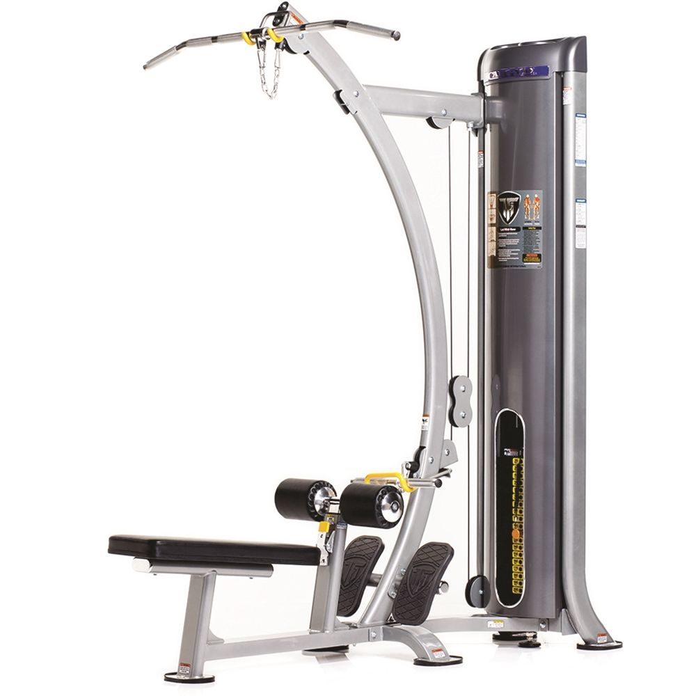 "Lateral/Mid-Row Strength Station, Platinum Sparkle with Charcoal Accents, 75 D"" x 48 W"" x 88 H"""