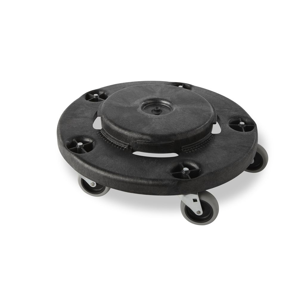 Rubbermaid® Brute® Dolly for 20, 32, 44 and 55 Gallon Brute® Containers, Black