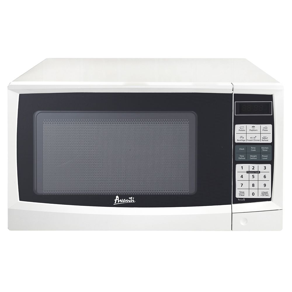 Avanti® Electronic Microwave with Touch Pad, 0.9 Cu Ft, 900 Watts, White