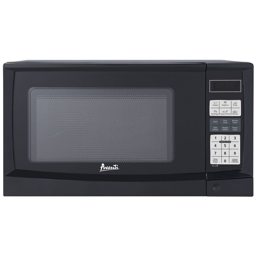 Avanti® Electronic Microwave w/ Touch Pad, 0.9 Cu Ft, 900 Watts, Black