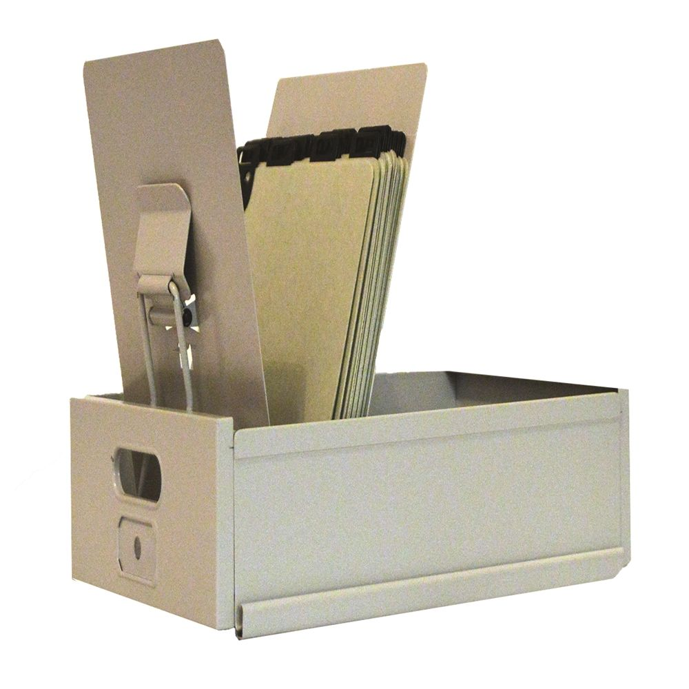 Card-Matic Steel Posting Trays, Steel, 6-1/2'W x 12-1/8'D x 8-1/2'H